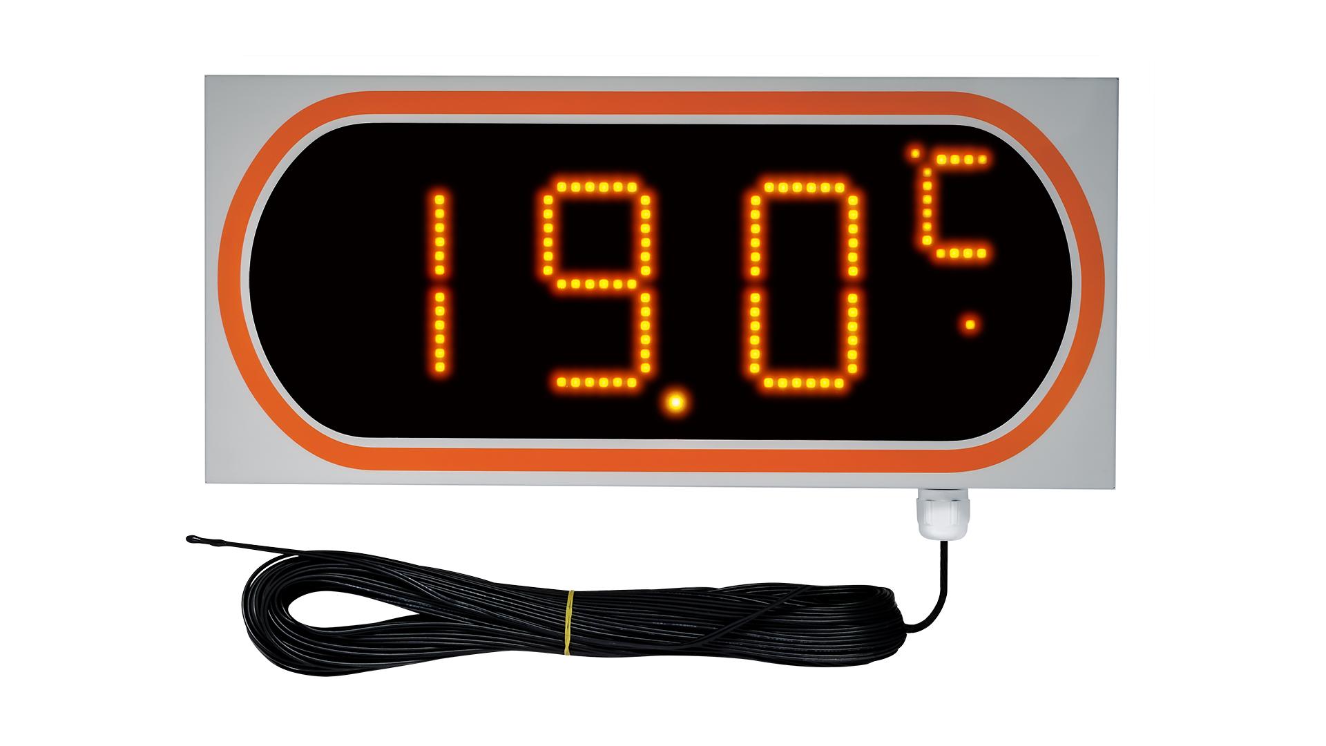 大型表示温度計