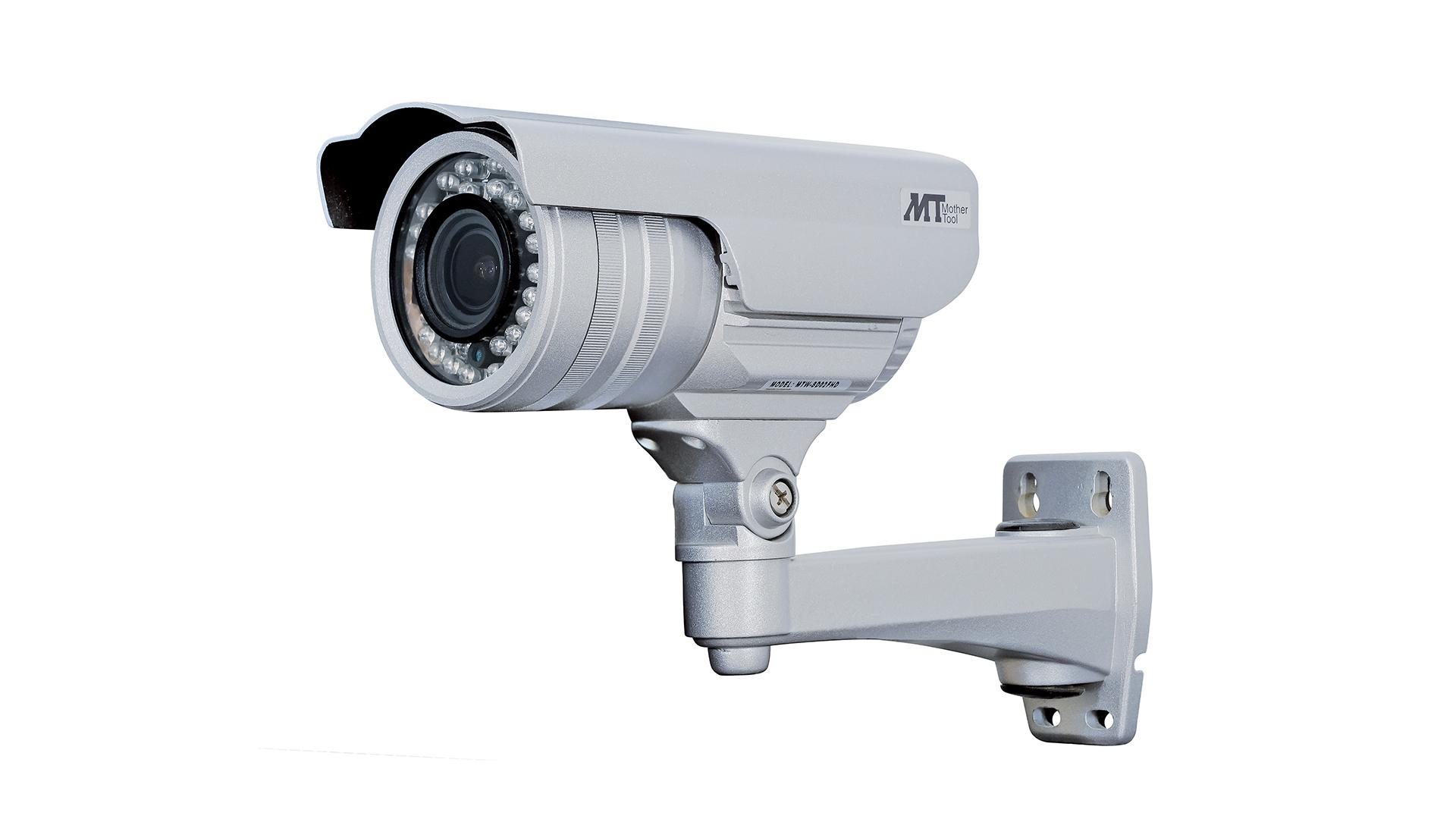 SDカードレコーダー搭載2.1メガピクセル防水バレット型AHDカメラ