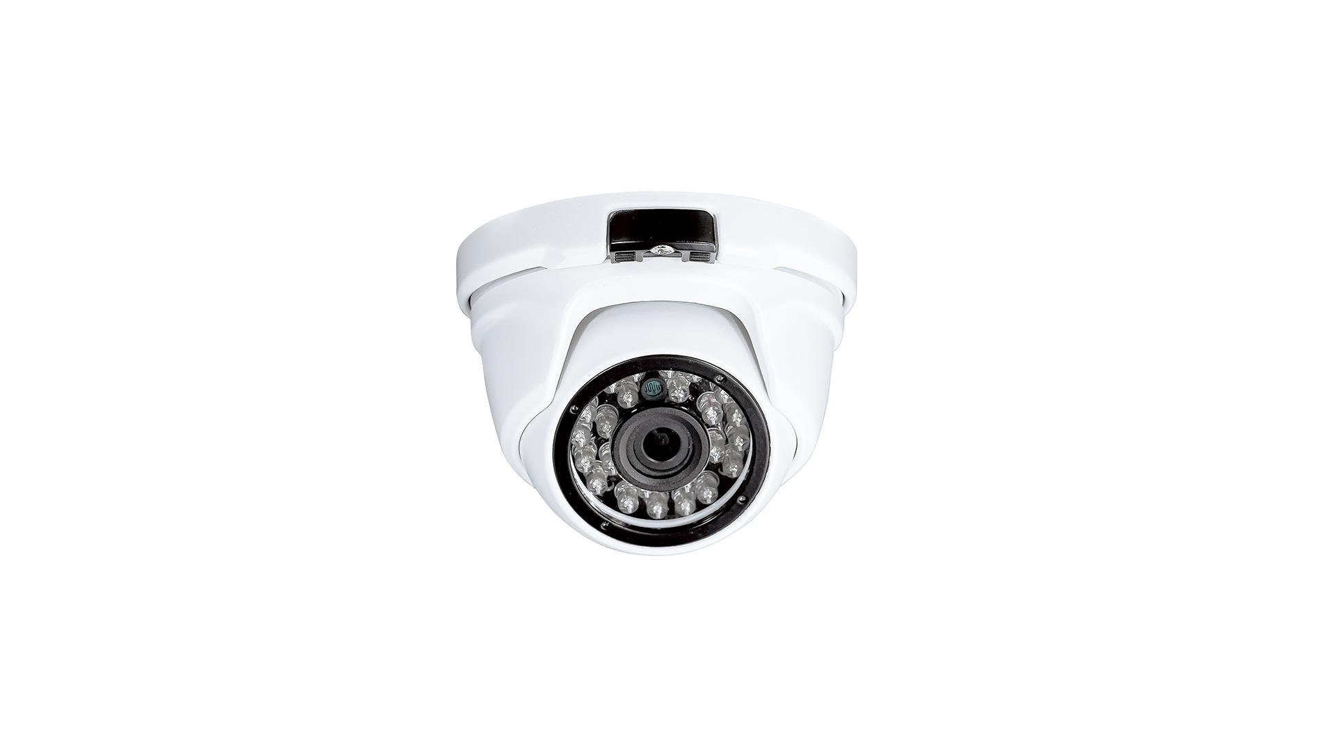 3メガピクセル防水ドーム型IPカメラ