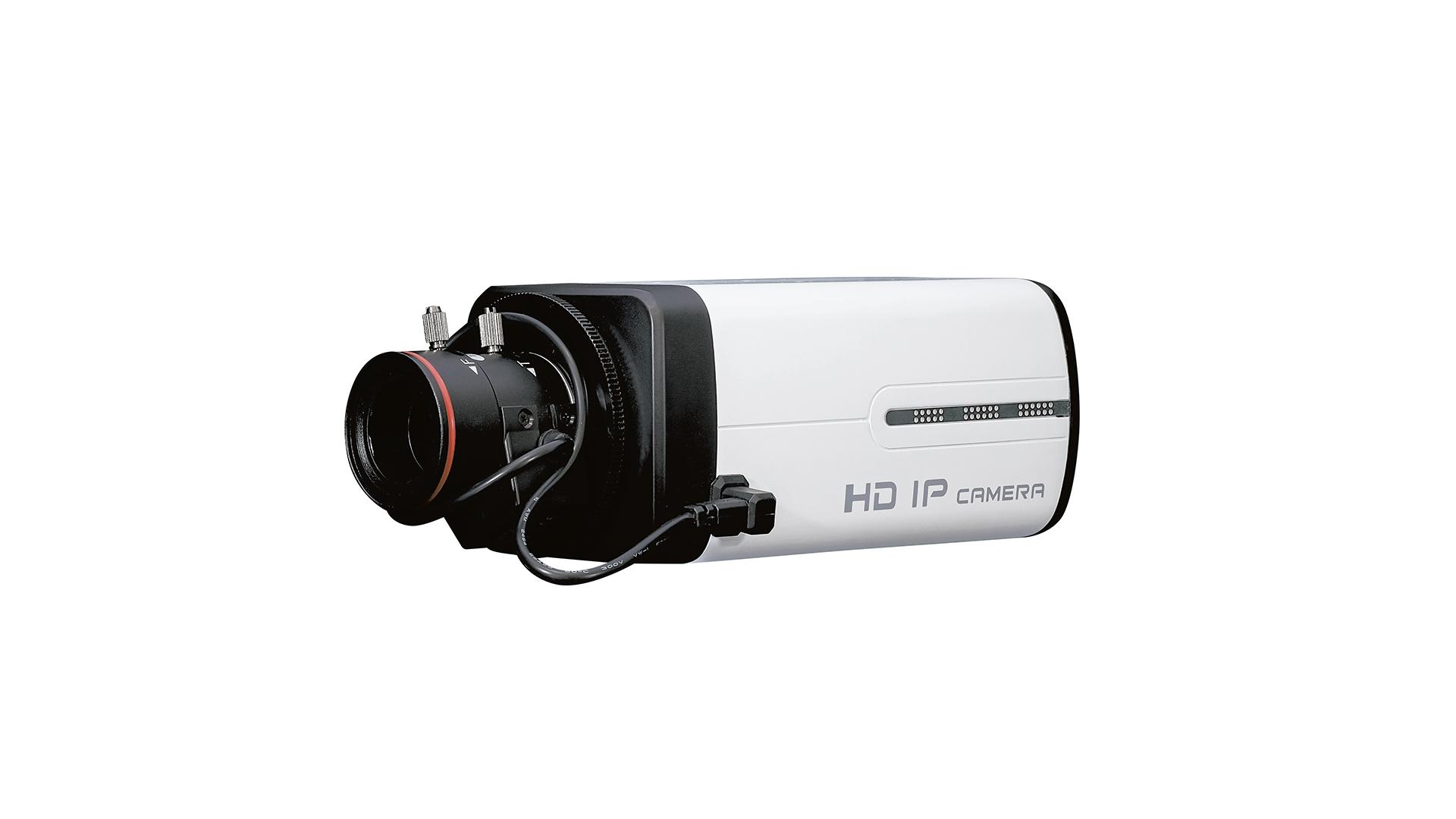 SDカードレコーダー搭載2.1メガピクセルボックス型IPカメラ