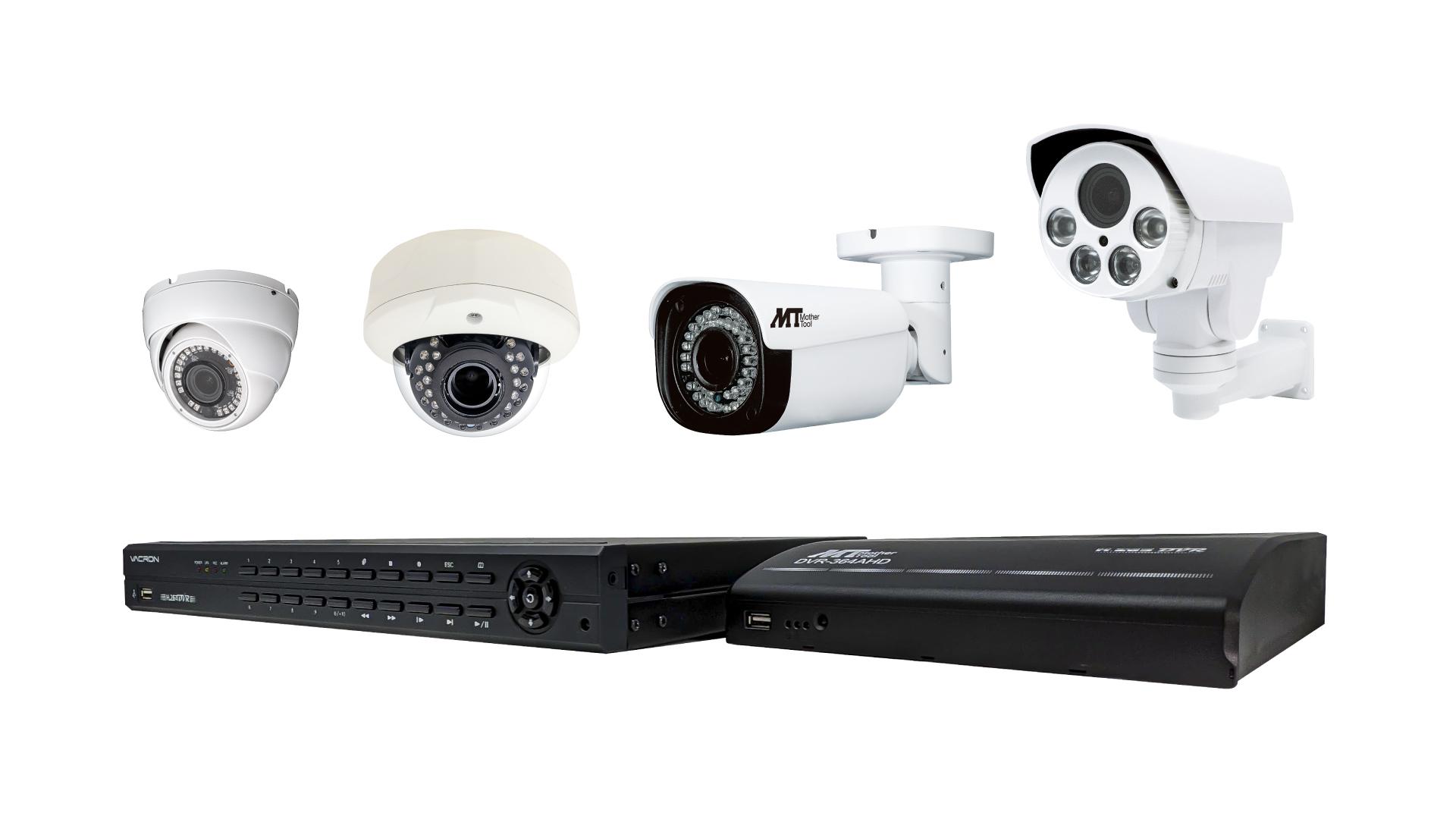 AHDツーケーブルカメラシステム